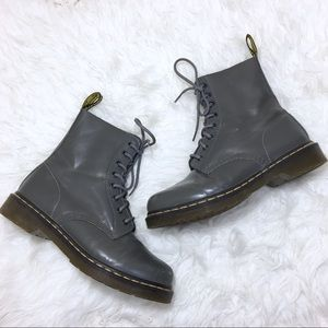 Dr. Martens Pascal Lace Up Boot Gray Size 9